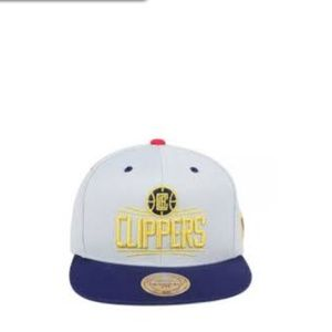 MITCHELL & NESS LOS ANGELES CLIPPERS USA HAT NEW
